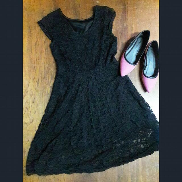 ❤REPRICED❤ 170 ONLY!!! Black Laced Dress