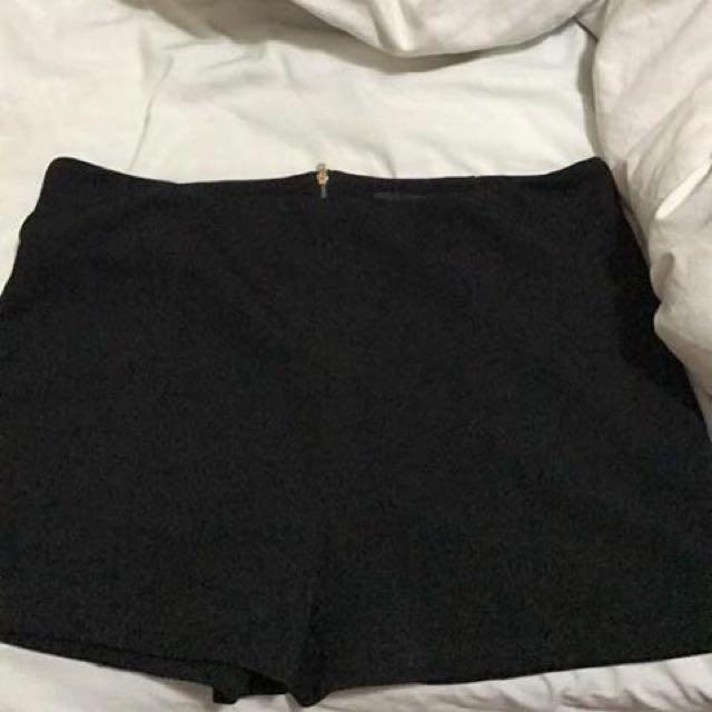 Black Pagani Shorts