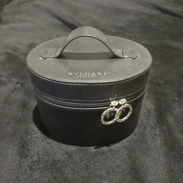 Blvgari Leather Jewelry Box
