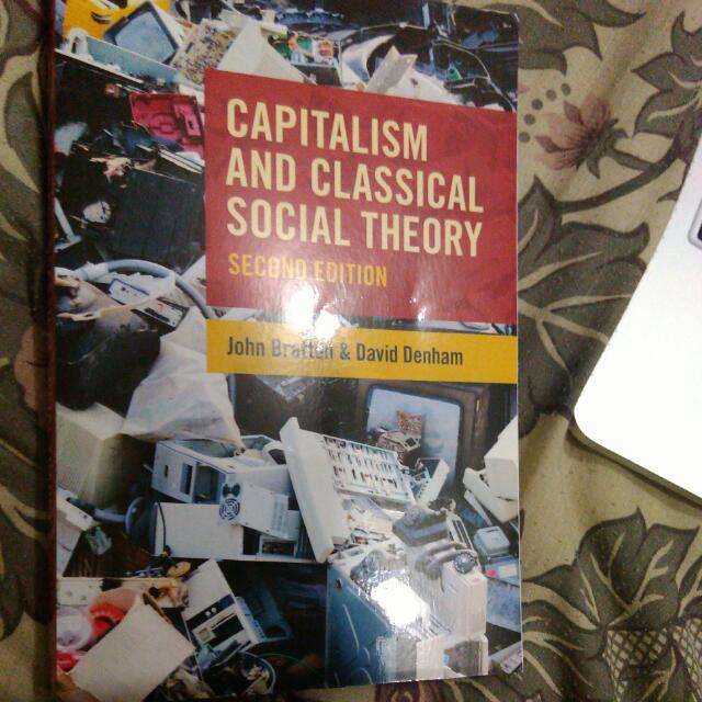 Capitalism And Classical Social Theory 2nd Edition
