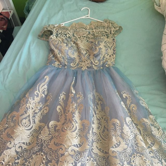 "Chi Chi London ""Elsa"" Ball Gown"