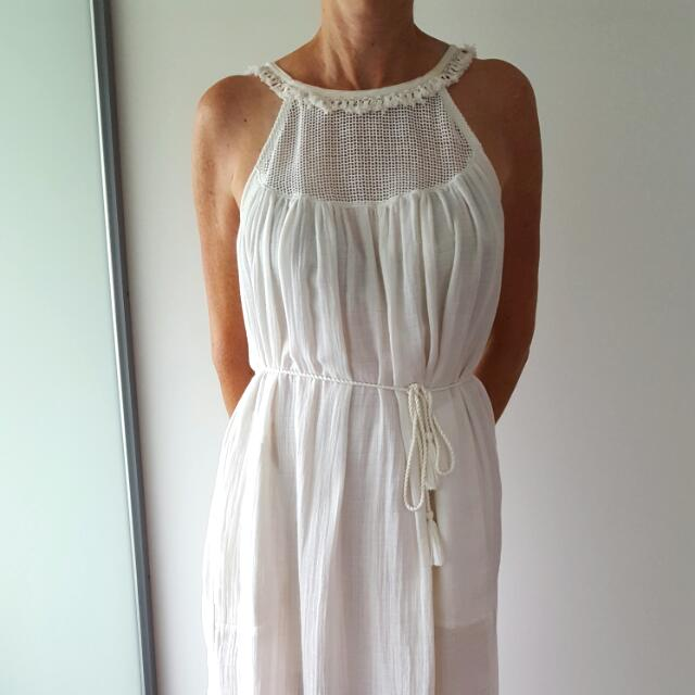 Country Road White Dress