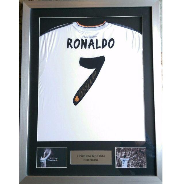 promo code 1439b bdfdc Cristiano Ronaldo Signed Real Madrid Shirt