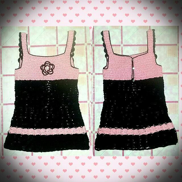 "REPRICED!! Crochet ""Top or Dress"""