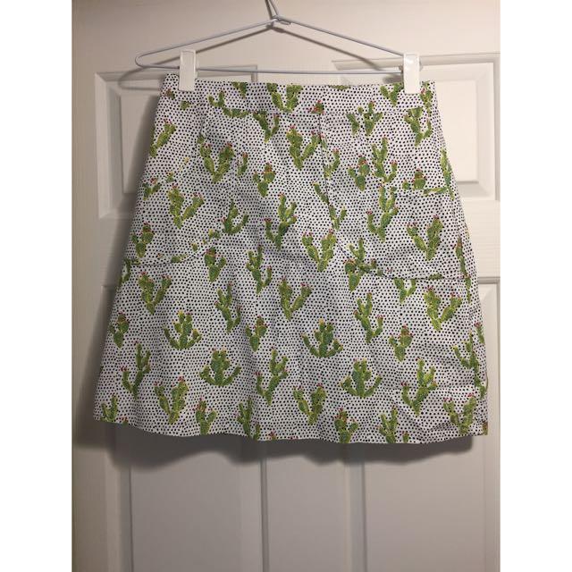 Dangerfield Cactus Skirt