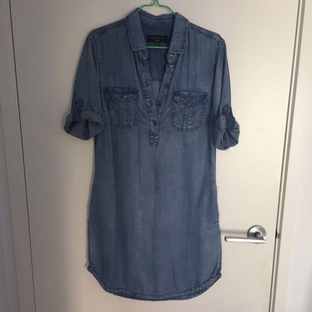 Denim dress (Forever New)