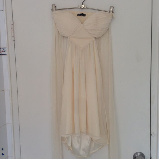 DOTTI Cream Minidress