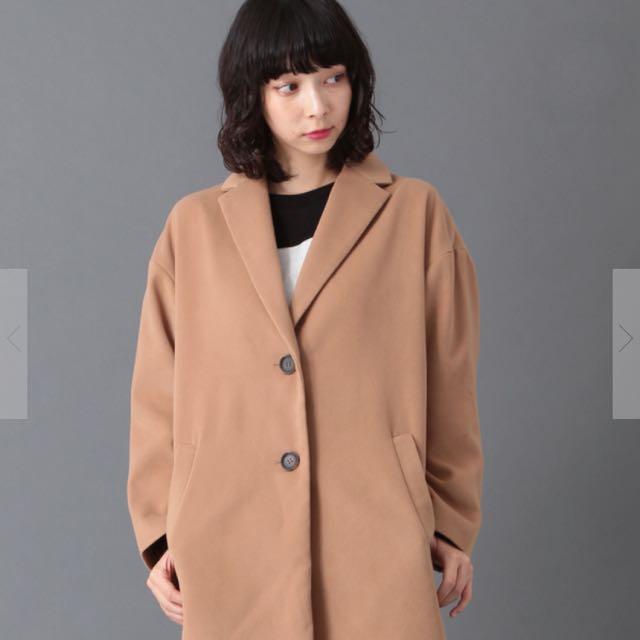 (含運)earth大衣 駝色 日系 原價3990 福袋 E Hyphen Net Shop