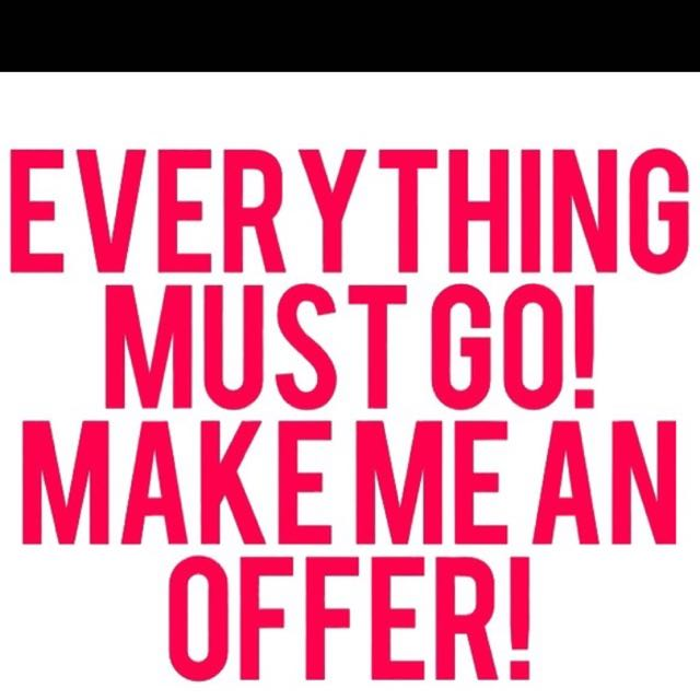 Everything Of Mine On Sale! Make An Offer - All Going To Charity Soon