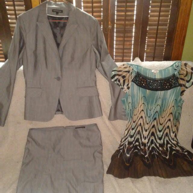 Express Design Studio Ladies Suit And Nicola Top