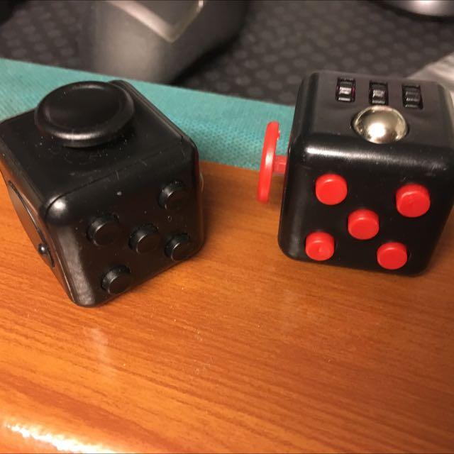 Fidget Cube (Black And Red Black)
