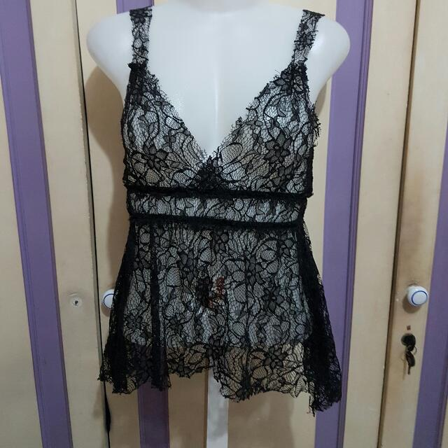 French Lace Top