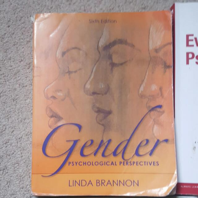 Gender. Psychological Perspectives