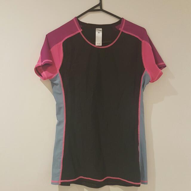 Girl Xpress Rash Shirt Size 16