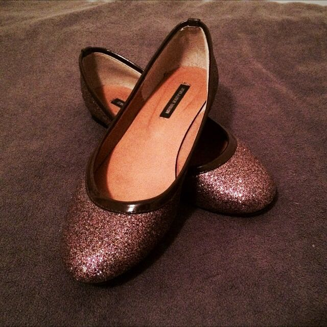 Glitter Shoes Size 6 1/2