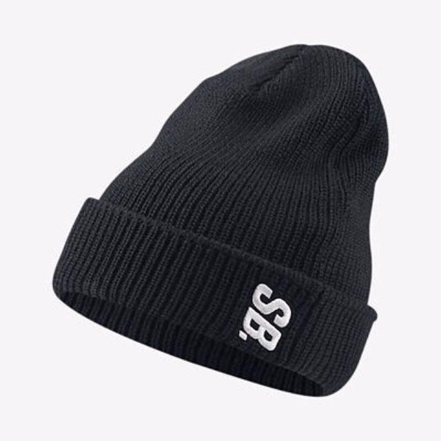 「H.C」英國代購 原廠正品 Nike SB 黑色 毛帽