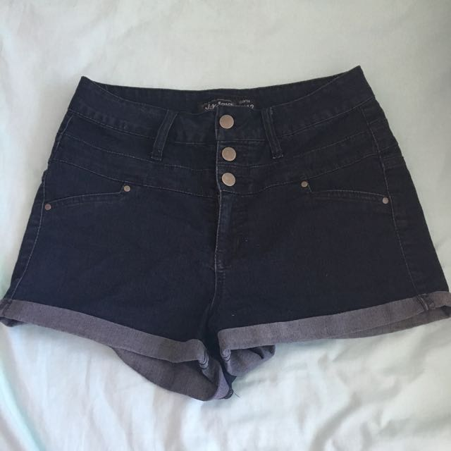 Highrise Denim Shorts