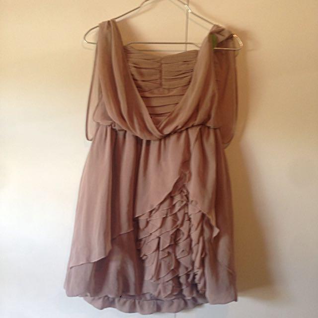 H&M Grecian Style Dress Size 8