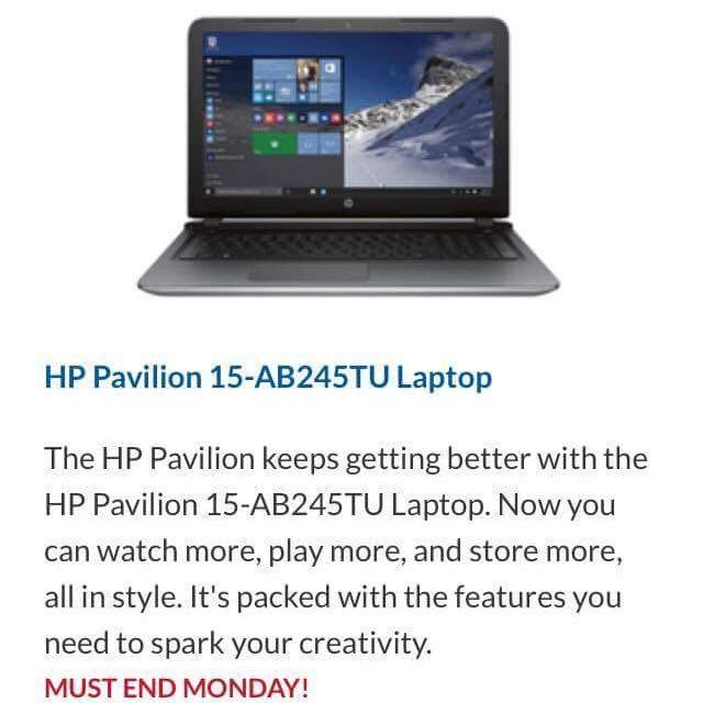 HP BEATS LAPTOP