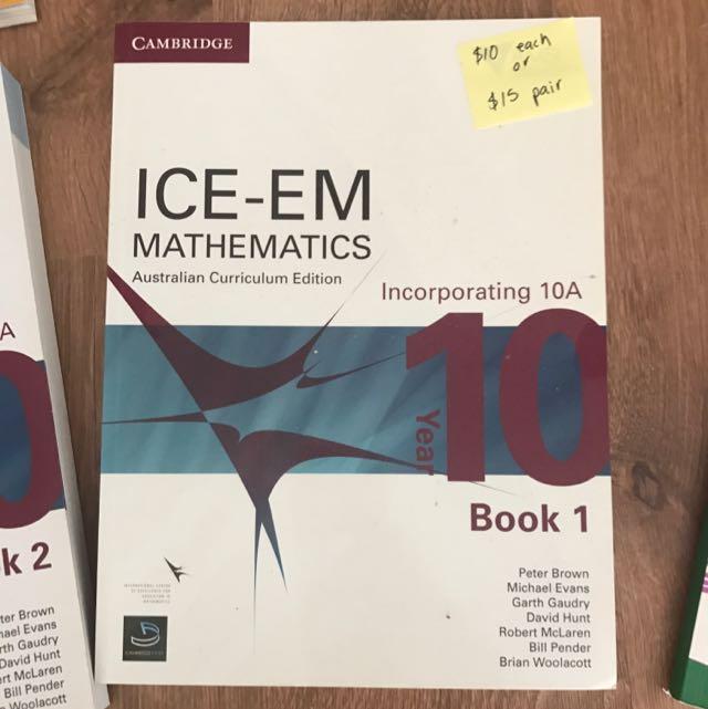 Ice Em Mathematics Year 10 Book 2