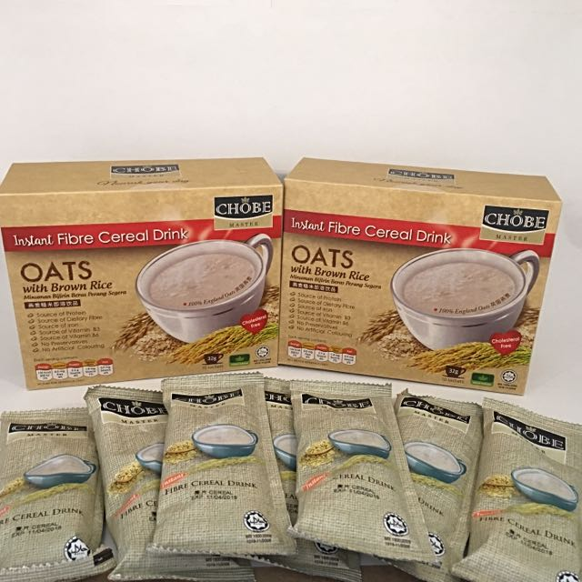 Instant Cereal OATS With Brown Rice ( 2 BOXES PROMO )