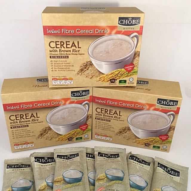 Instant Cereal CEREAL With Brown Rice ( 3 BOXES PROMO )