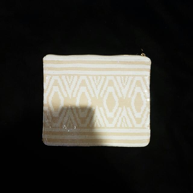 Kookai Sequin Clutch