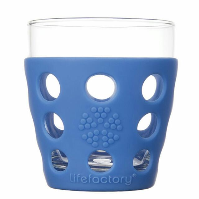 Lifefactory Small Beverage Glass (1 Set Isi 2)