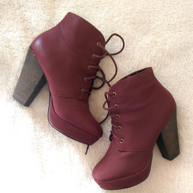 London Rebel Ankle Boots