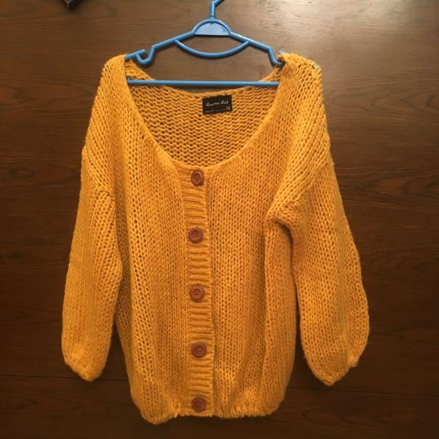 [Made In Korea] Loose Fit Cardigan