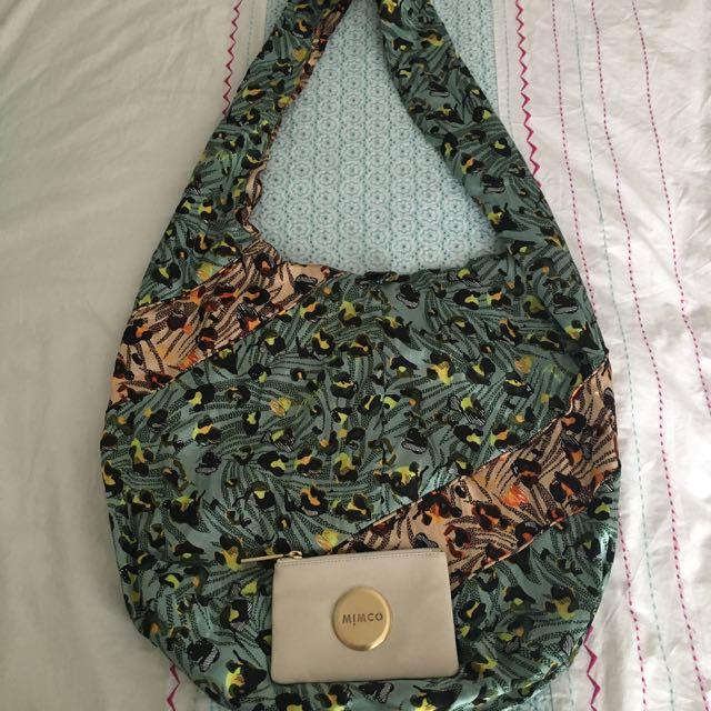 Mimco Silk Bag