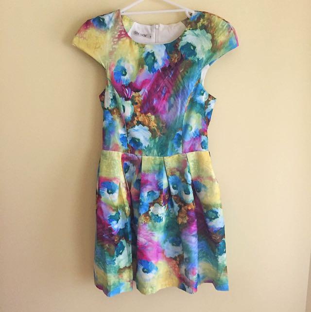 Multi Dress Size 8