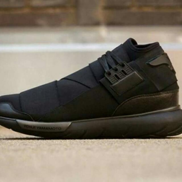 Adidas Y3 Yohji Yamamoto Qasa Size: 8 To 11 Only. Color: Black Only. OEM Original Equipment Material., Sports, Athletic & Sports Clothing on Carousell