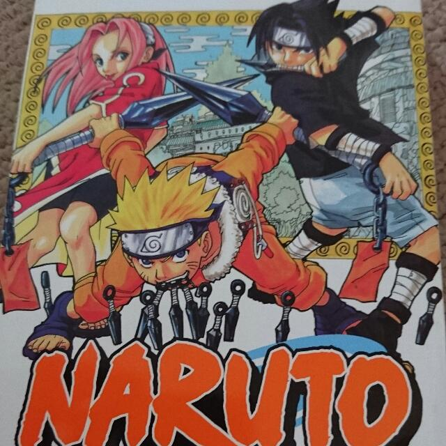 Naruto Original Complete Manga Series