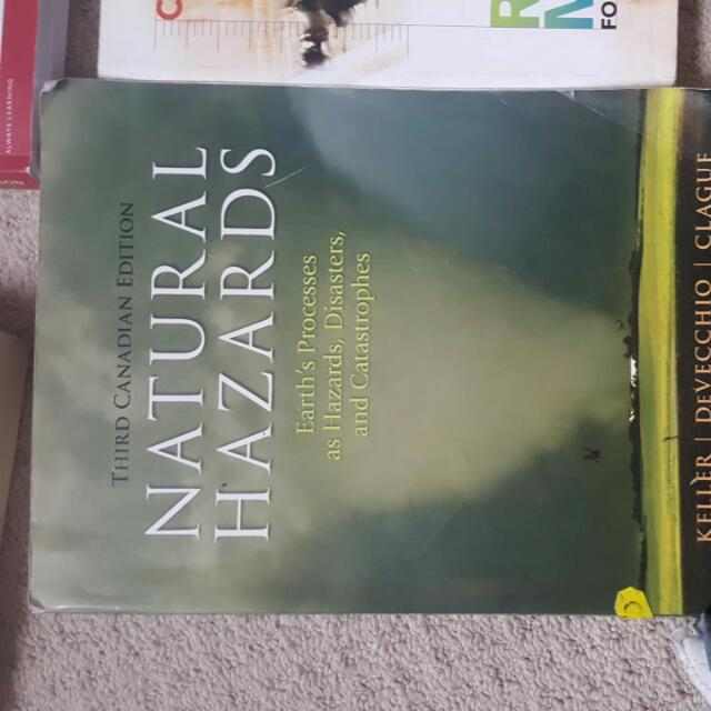 Natural Hazards. Geography Textbook