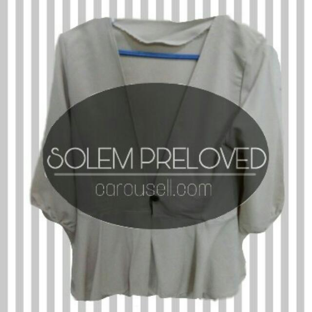 Outer Peplum Cream