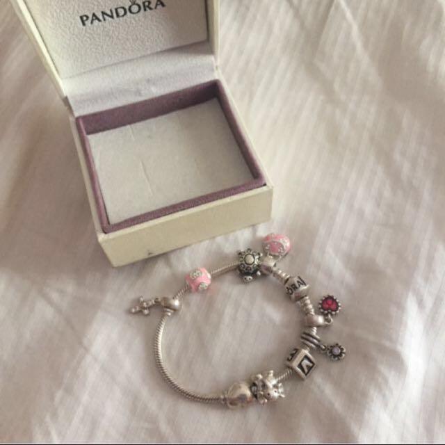 Pandora With Pandora Charms