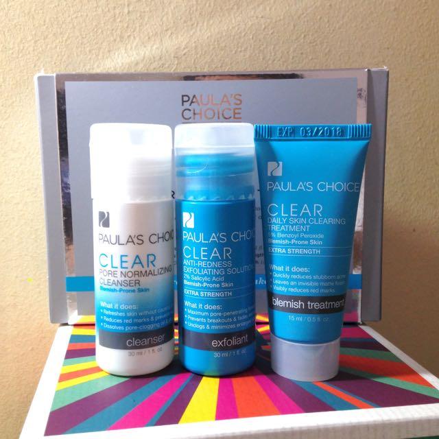 Paula's Choice Clear Extra Strength Acne Trial Kit