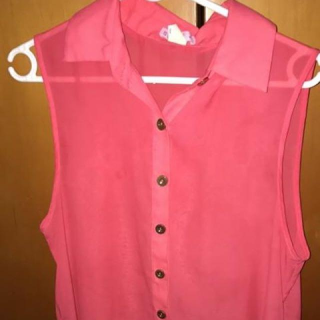 Pink Supre Top