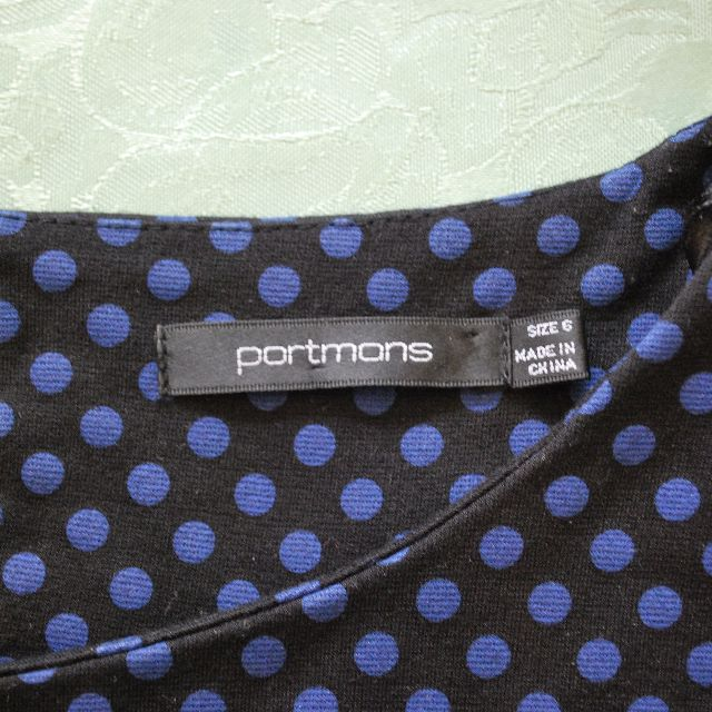 Portmans Polka Dot Dress