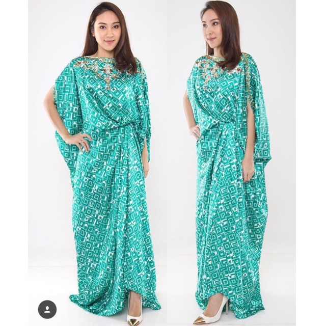 Preloved like new: Modern Kaftan by AVA PROLOGUE in Tosca (ALL SIZE)