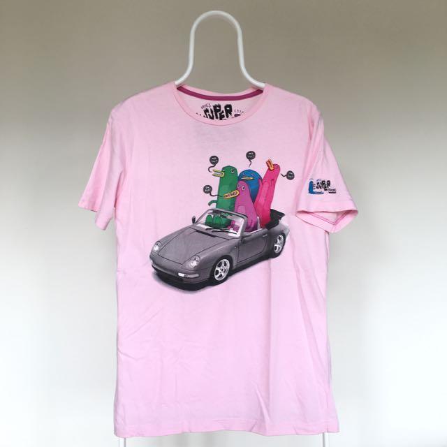 Pull and Bear Pink T-Shirt