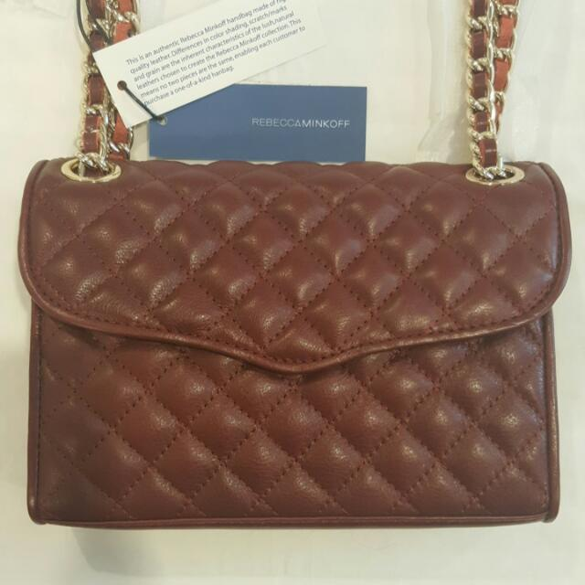 Authentic Rebecca Minkoff - Quilted Mini Affair - Brand New