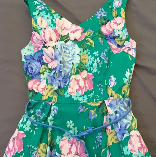 Review Spring 2015 Floral Dress