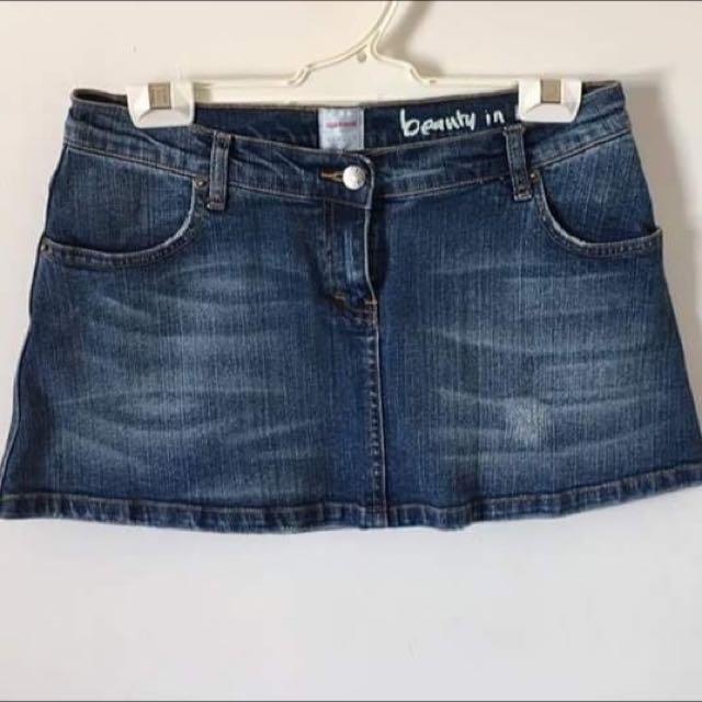 Sass & Bide Denim Skirt