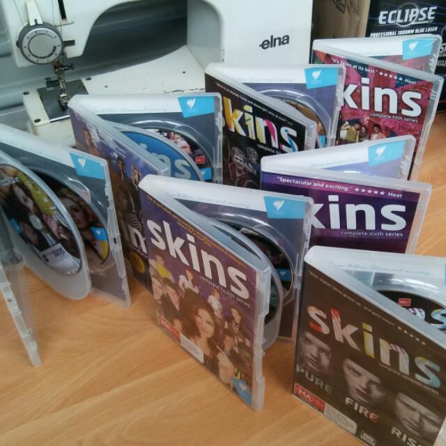 SKINS DVD SEASONS 1-7