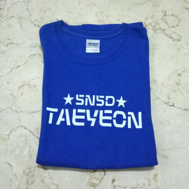 Snsd Taeyeon Shirt ORI