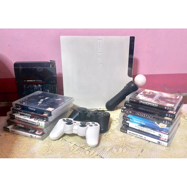 Sony PS3 (320GB) White Php12K negotiable