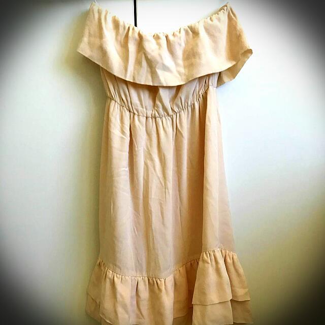 Stapless Summer Dress