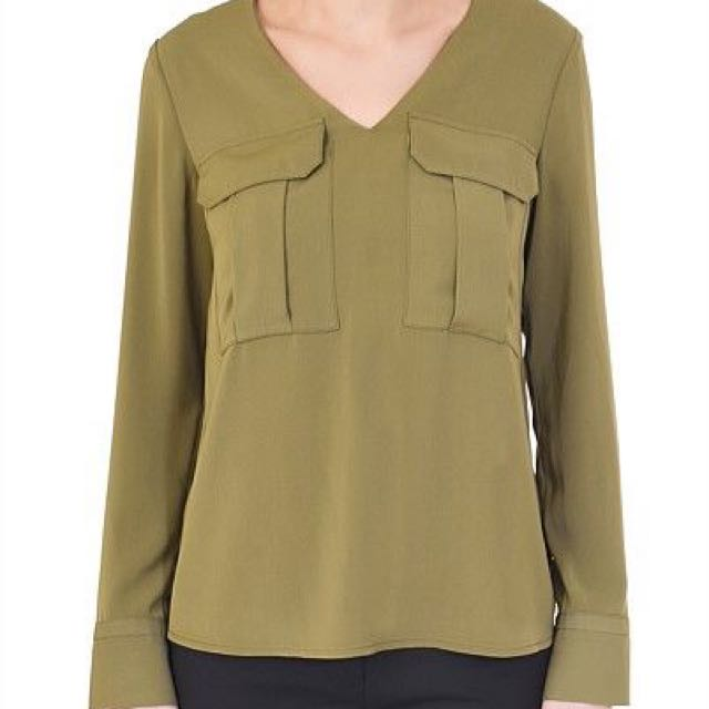 Tess Pocket Blouse From Forcast